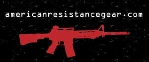 AMERICAN RESISTANCE FLAG IMAGE LOGO