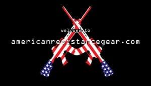 AMERICAN RESISTANCE CROSS RIFLES LOGO IMAGE SLIDER