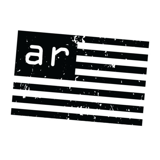 AMERICAN RESISTANCE AR FLAG STICKER