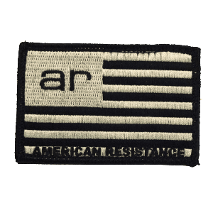 AMERICAN RESISTANCE FLAG PATCH VELCRO