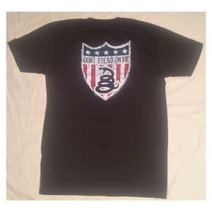 AMERICAN RESISTANCE T SHIRT BLACK