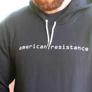 AMERICAN RESISTANCE HOODIE SWEAT SHIRT