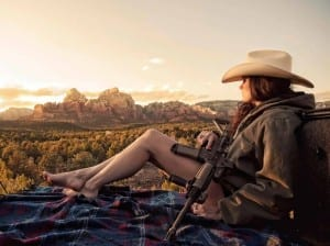 AMERICAN RESISTANCE AR15 GIRL IMAGE