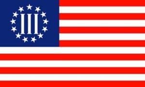 THREE PERCENT FLAG IMAGE