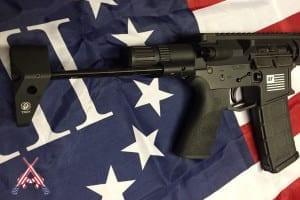 american resistance gear - cutom engraved ar-15 parts - slider