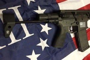 AMERICAN RESISTANCE AR15 556/223 WITH CERAKOTE