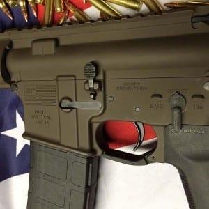 AMERICAN RESISTANCE AR15 556/223 WITH PATRIOT BROWN CERAKOTE