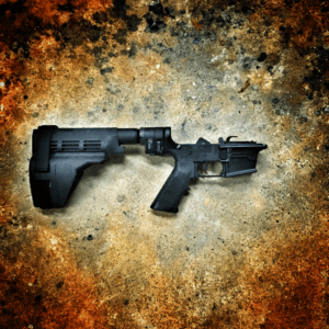 BREAKDOWN PISTOL COMPLETE LOWER WITH LAW TACTICAL