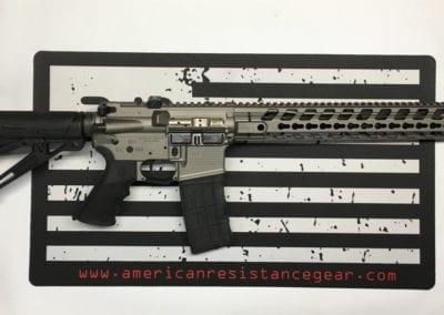 AMERICAN RESISTANCE AR15 GUN METAL GREY CERAKOTE WITH FORTIS HANDGUARD
