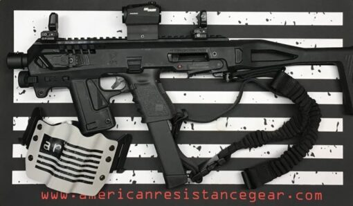 CAA RONI MICRO WITH GLOCK 19 AND HOLSTER