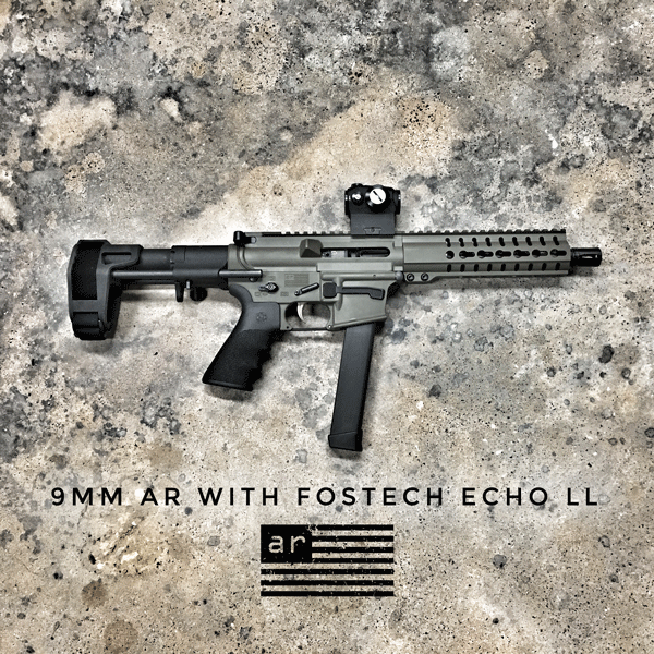 9MM PDW WITH FOSTECH TRIGGER