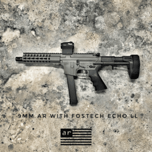 AMERICAN RESISTANCE 9MM PDW WITH CERAKOTE