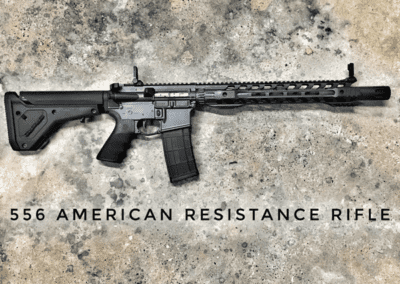 AMERICAN RESISTANCE AR15 CUSTOM RIFLE CHAMBERED IN 556 NATO