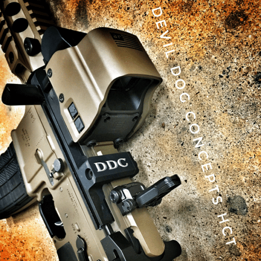 AMERICAN RESISTANCE CUSTOM AR15 WITH DEVIL DOG CONCEPTS HARD CHARGER