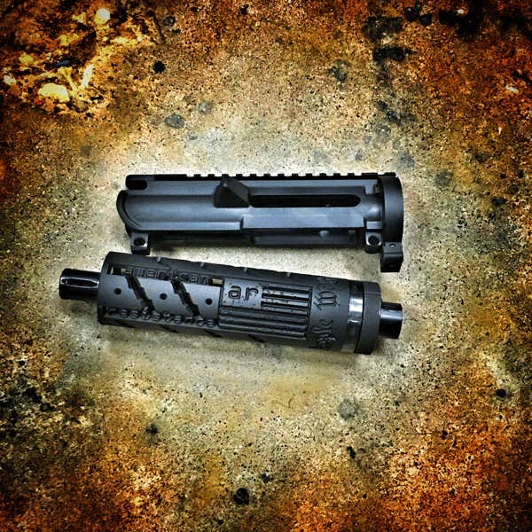 9MM BREAKDOWN UPPER CUSTOM HANDGUARD