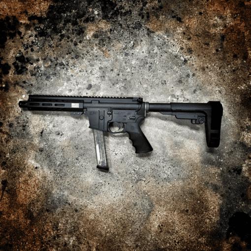 "AMERICAN RESISTANCE AR-9MM 8.5"" BARREL"