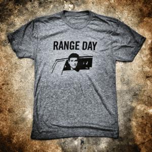 "ARG ""RANGE DAY"" T SHIRT GREY"
